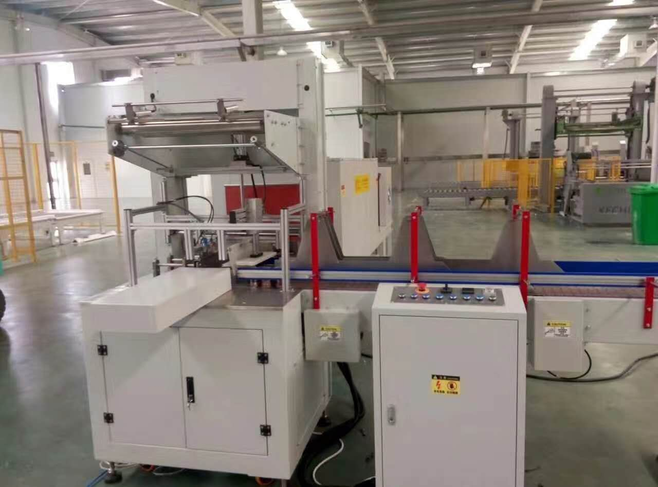 SMALL SHRINK FILM WRAPPING MACHINE