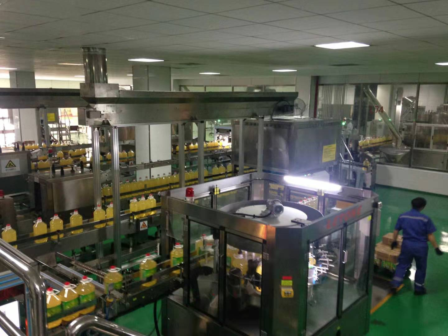 Edible Oil PET Bottling Line