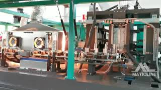 All Pneumatic Blow Molder 4Cavities