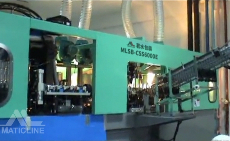 MLSB-CSS6000E Stretch Blow Molder